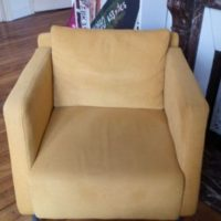 FAUTEUIL MOUTARDE