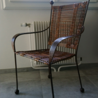 chaises metal